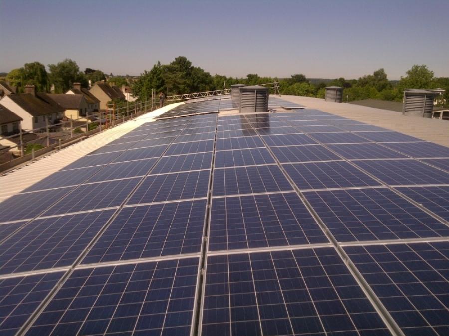 Barholomew school    southern solar