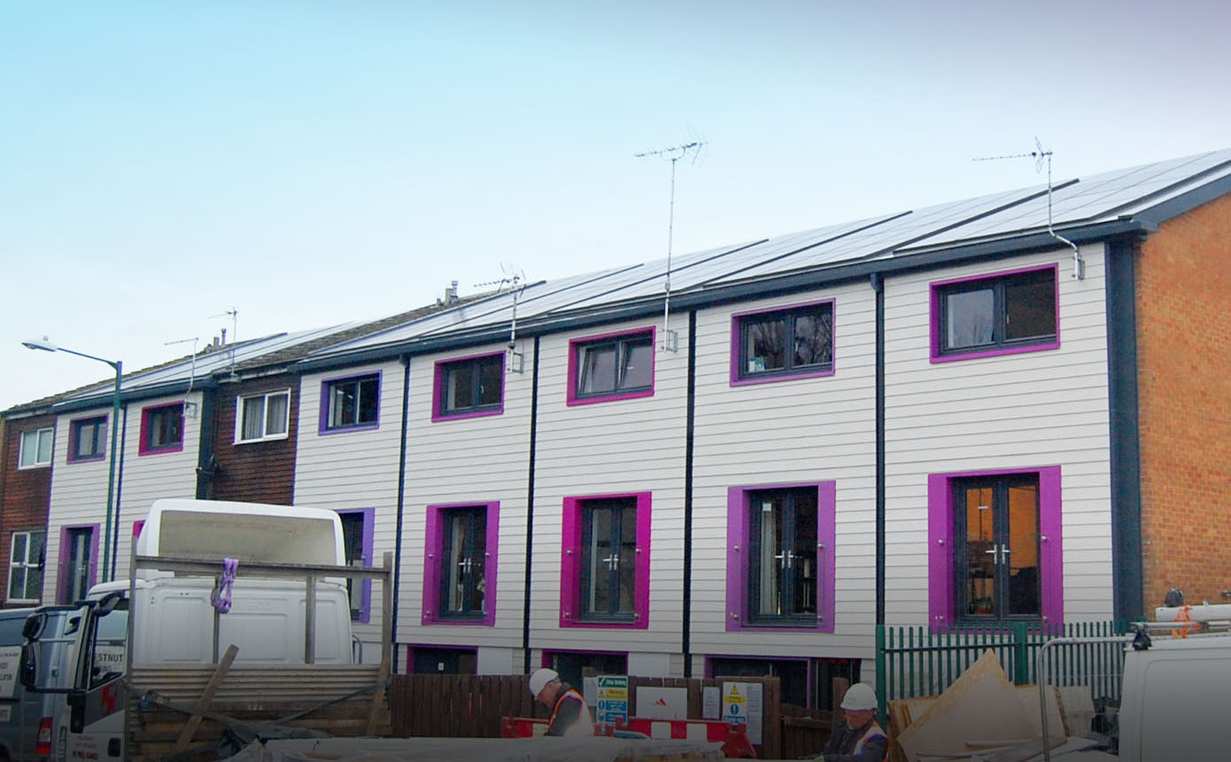Uk S First Solar Powered Energiesprong Homes Nearing