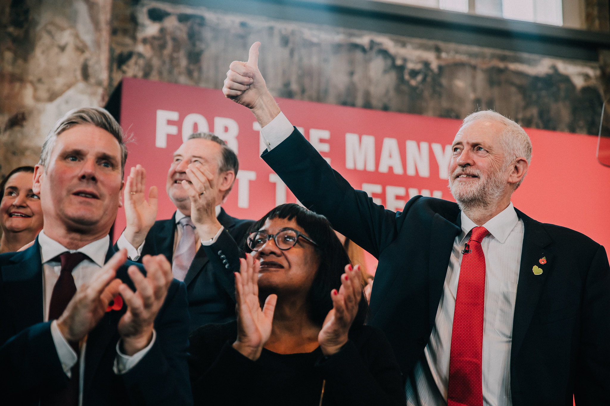 Jeremy Corbyn at the launch of Labour General Election campaign 2019. Image: Jeremy Corbyn.