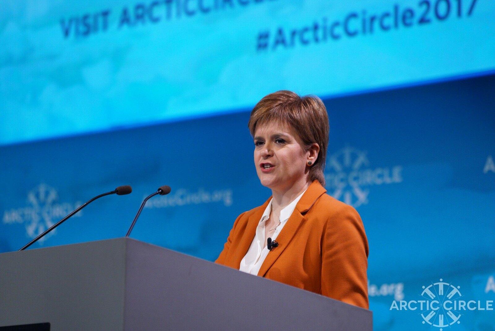 Image: Arctic Circle.