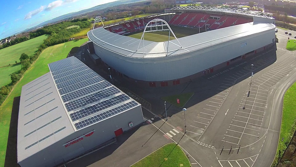 Llanelli Scarlets To Double Stadium Rooftop Installation