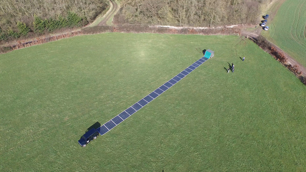 Tech start-up launches crowdfunding campaign for 'rollable' solar-plus-storage system