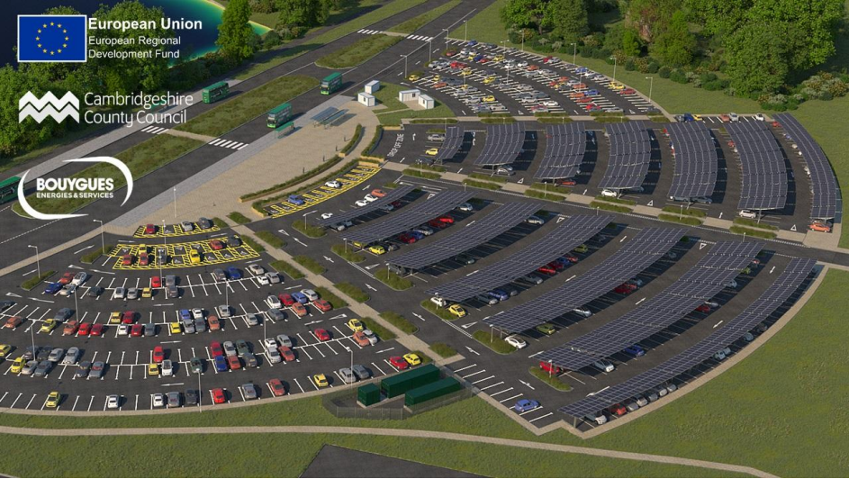 Image: A plan of the St Ives solar-plus-storage carport, one of the projects highlighted within the STA's report.