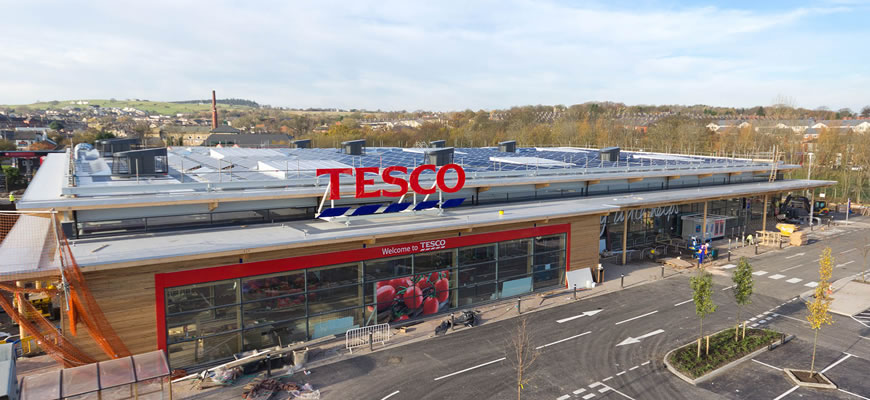 Exclusive Tesco Plotting Uk Superstore Solar Rollout