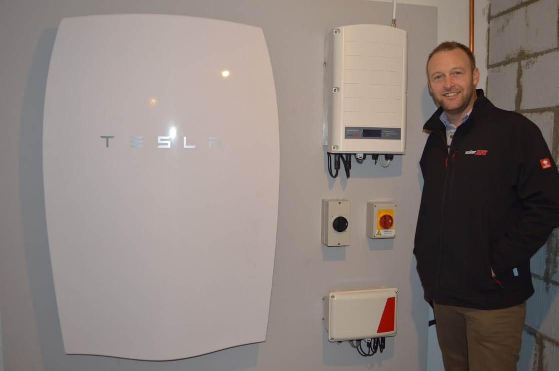Cardiff Installer Claims To Install Uk S First Tesla