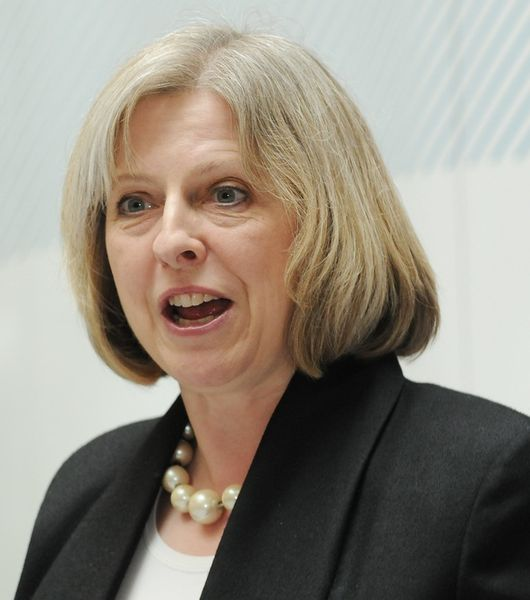 Prime Minister Theresa May could green light an R&D centre for batteries and energy storage. Image: UK Home Office.