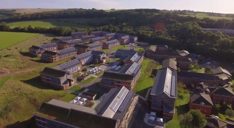 University of Sussex completes largest solar array in UK