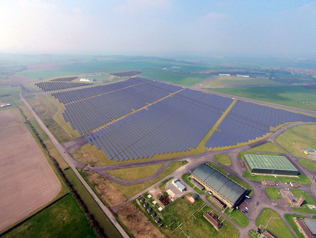 Welink sells off bsr developed 61mw swindon project after for Solar ranch