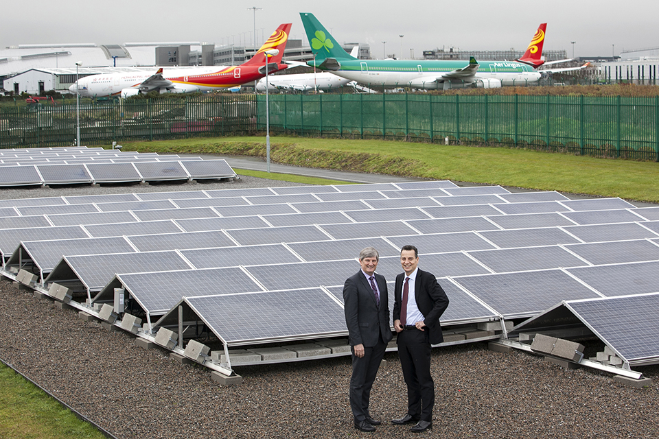 Dublin Airport Completes 110kw Solar Farm On Route To 2020