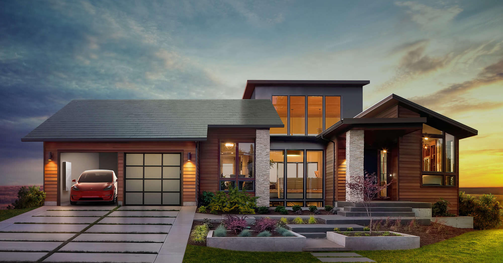 Solarcity Roof Tiles >> Tesla solar roof tiles to ship to UK in 2018 | Solar Power ...