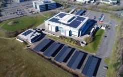 Aviva embraces solar carports with 608kW system at Norwich office