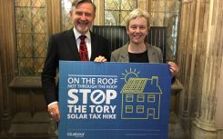 Labour launches campaign against 'solar tax hike'