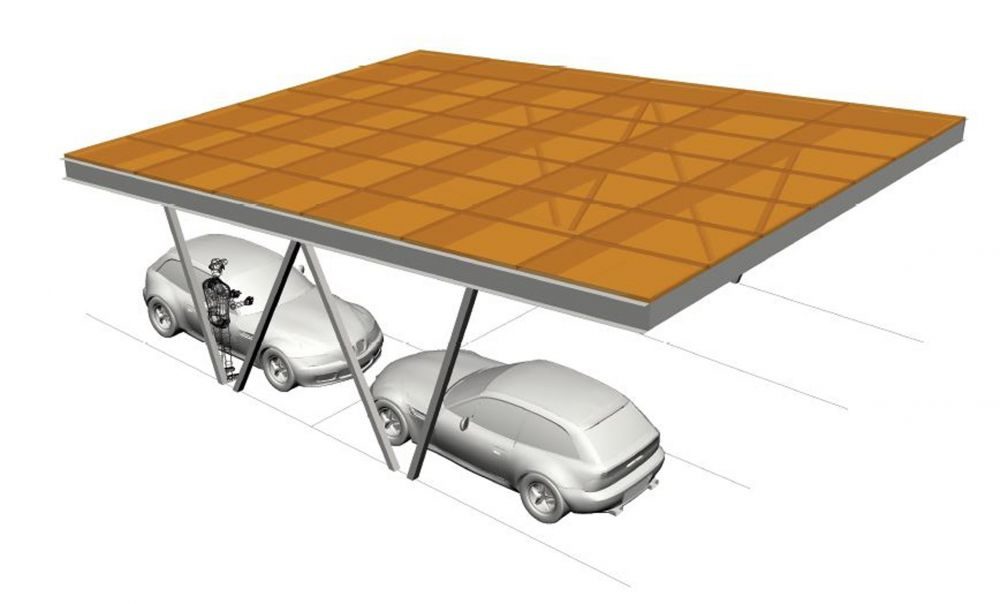 Bentley Solar Carport – Flexisolar Image 2