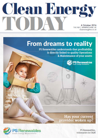 Show Edition: Clean Energy Today - Day 1 front cover