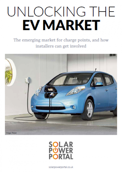 Unlocking the EV Market: A guide for installers front cover