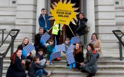 200,000-strong solar business rates petition delivered to Treasury as Hammond prepares maiden budget