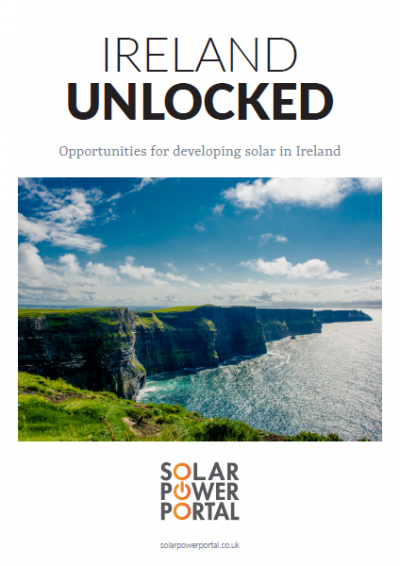 Ireland Unlocked: Opportunities for developing solar in Ireland front cover