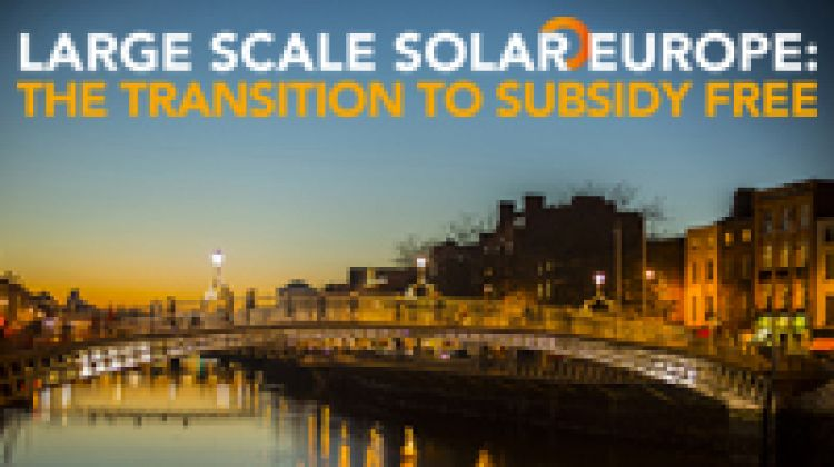Large Scale Solar Europe: The Transition to Subsidy Free
