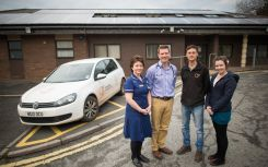 SunGift Solar installs 10kW solar array at Exeter doctors