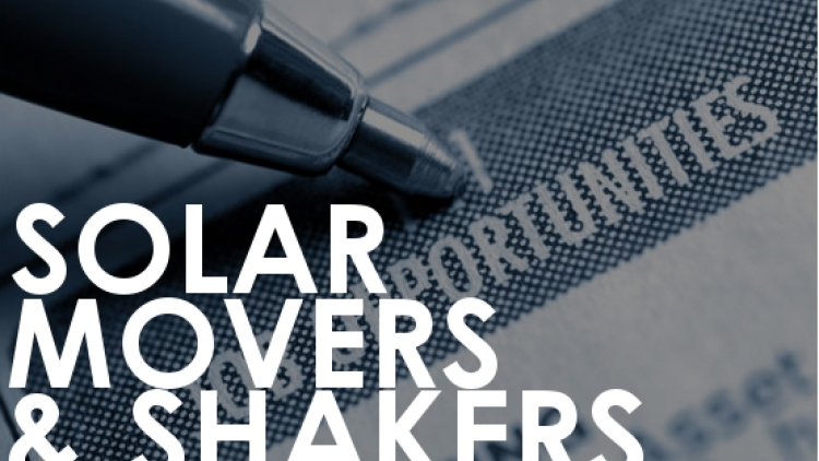 Solar movers and shakers 21 July 2016