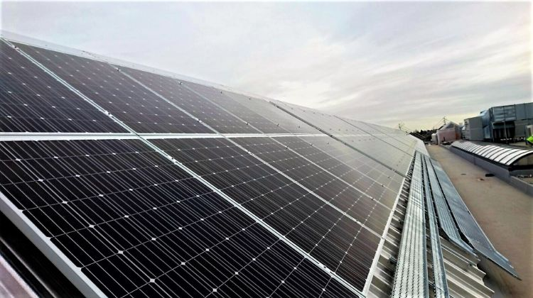 Photon on track with rooftop solar system atop HS2 training college