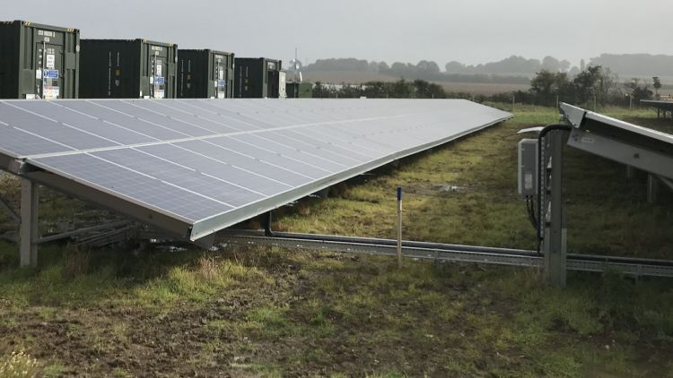 Inside Clay Hill, the UK's first subsidy-free solar farm
