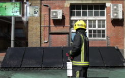 London Fire Brigade trialling new solar panel fire safety spray