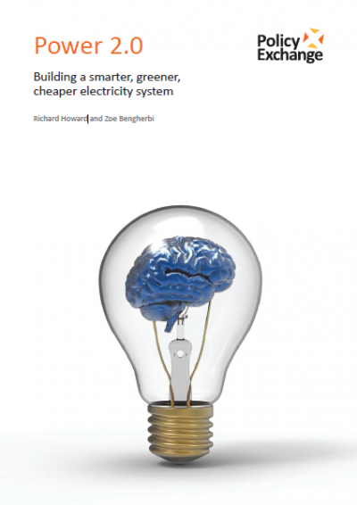 Policy Exchange - Power 2.0: Building a smarter, greener, cheaper electricity system front cover