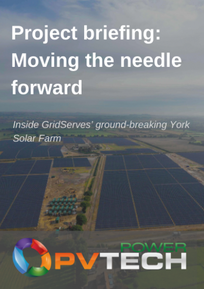 Project briefing: Moving the needle forward front cover