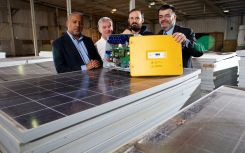 Solar panel recycling service expands with Kickstart Fund grant