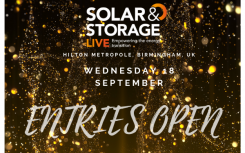 Solar & Storage Awards judges unveiled as nominations deadline looms
