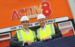 SSE Airtricity buys stake in Irish rooftop installer Activ8