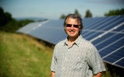 Ground-mount solar array provides long-term security for Kobashi Essential Oils