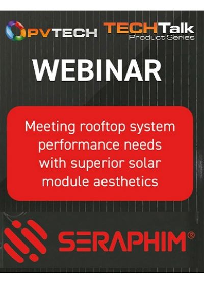 Meeting rooftop system performance needs with superior solar module aesthetics front cover