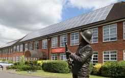 Hampshire Fire and Rescue Service chooses enhanced safety solution for its 700kW PV Sites
