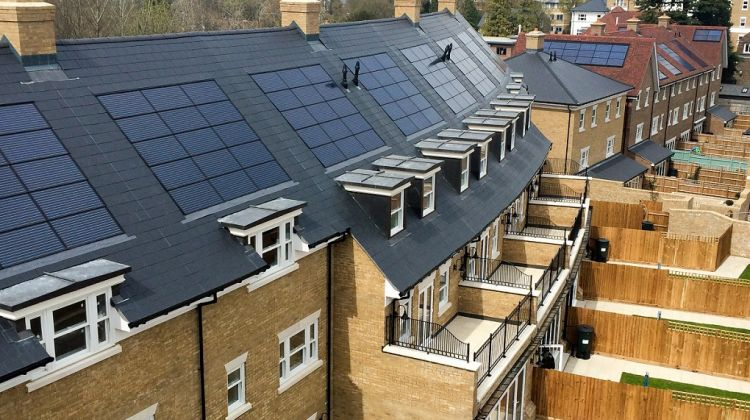 Housebuilders increasingly looking to in-roof solar says installer working on 400 homes