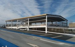Solar carport install complete at Leeds shopping centre, delivering 'successful proof of concept'