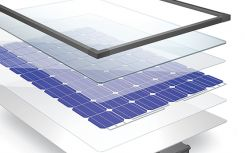 Solar panel elements ensure efficiency and long-lasting performance