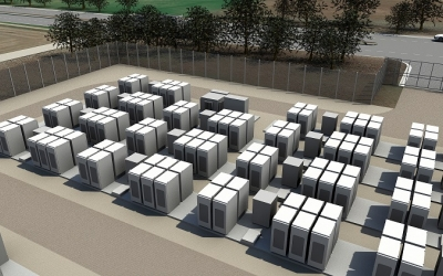 First grid scale Tesla Powerpack install in Europe completed in the UK
