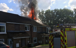 Solar panel electrical fault leaves man in hospital following roof fire
