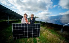UK's second subsidy-free solar farm completed by West Sussex Council using battery storage
