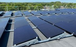 Winchester sport centre hits green milestone as solar install is completed