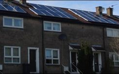 Over 1,100 homes to be offered solar by North Ayrshire council