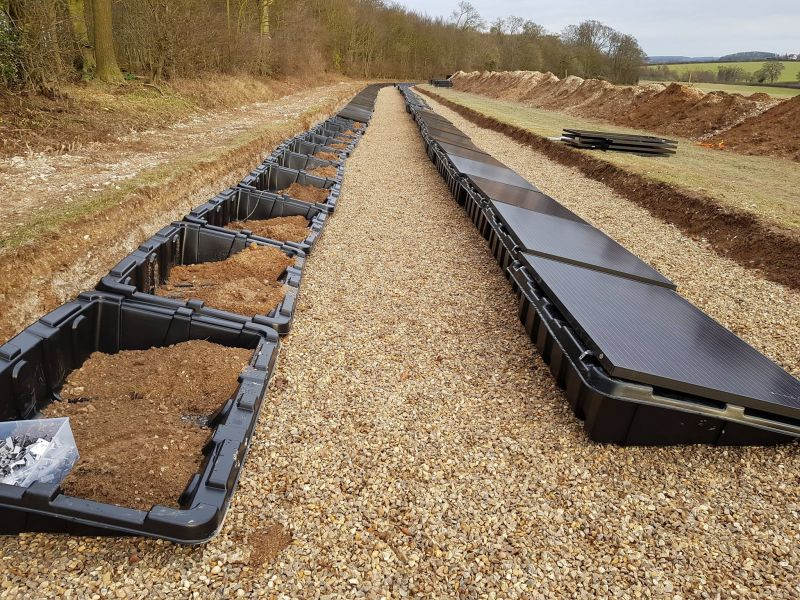 'Invisible' ground-integrated 50kW residential solar system installed