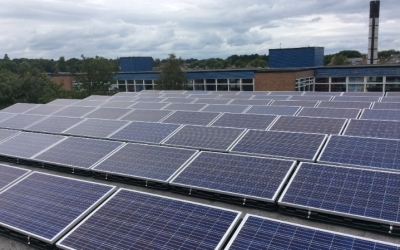 Largest community rooftop solar framework completed in Edinburgh
