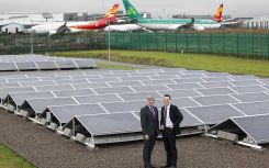 Dublin Airport completes 110kW solar farm on route to 2020 targets