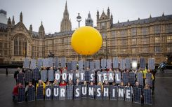 Solar campaigners create pop-up PV project at parliament