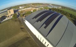 Cambridge University's sports centre powered by 78.75kWp solar array