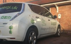 Crowdfunding sought for solar-powered EV charger
